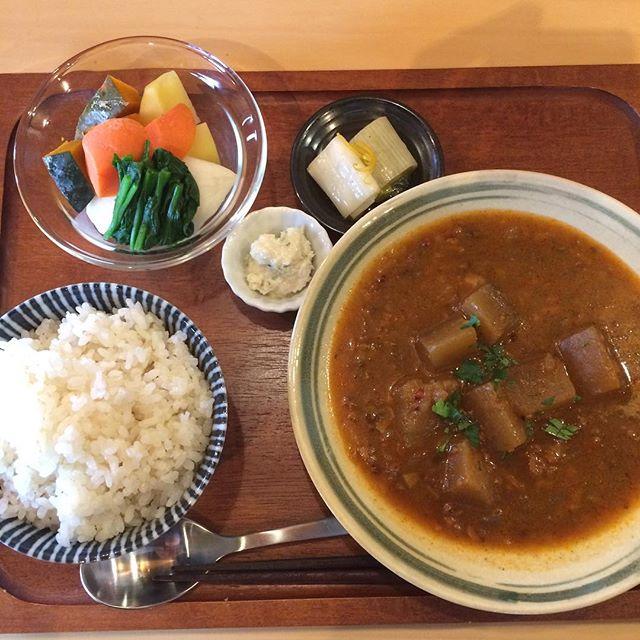 今週のフクボタカフェ、スープカレー!最高!#フクボタカフェ#赤石商店