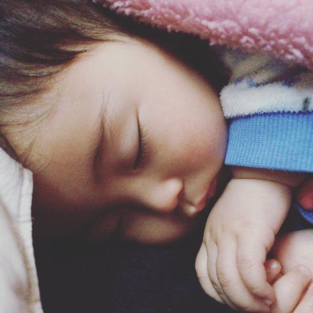 朝起きると大福餅みたいな寝顔がある瞬間が好き